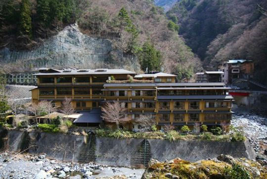 The Hot Spring Hotel of Honshu is Still Open After 1,200 Years of Operation
