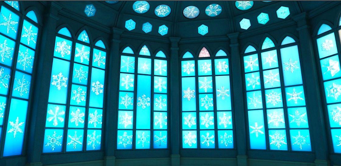 北海道旭川『雪の美術館』,彷彿走進艾莎公主的冰雪王國