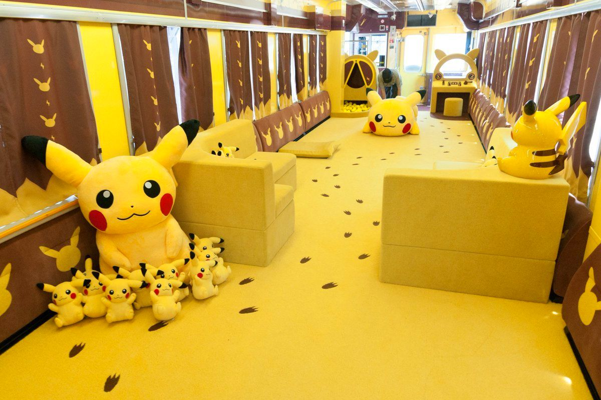 Are you ready to ride on the POKÉMON with YOU Train in Tohoku Japan?