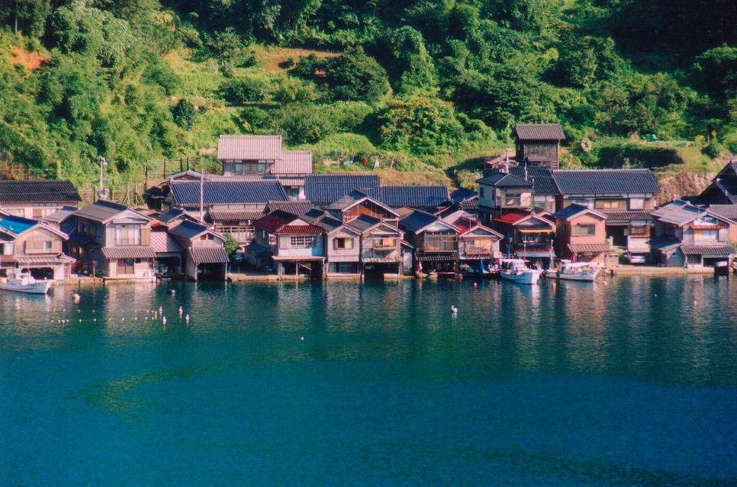 京都伊根・舟屋・日本威尼斯 超美小漁村