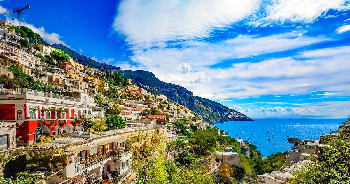 義大利阿瑪菲海岸 聞著檸檬香氣 欣賞海天一色如畫絕景