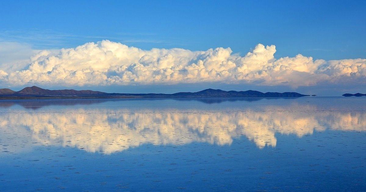 美到像天堂的地方!終於看到了!玻利維亞『天空之鏡』烏尤尼鹽沼