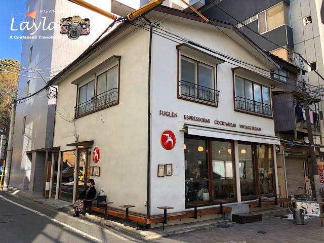 2018 寒假|日本 Japan ✿ Day 6 ✿ 東京都 Tokyo ► 食事 ❣ 來自挪威奧斯陸、連紐約時報都好評的咖啡 → Fuglen Tokyo