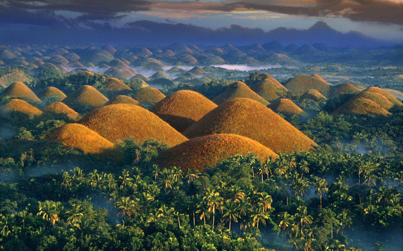 巧克力山 – 位於菲律賓的秘密景點