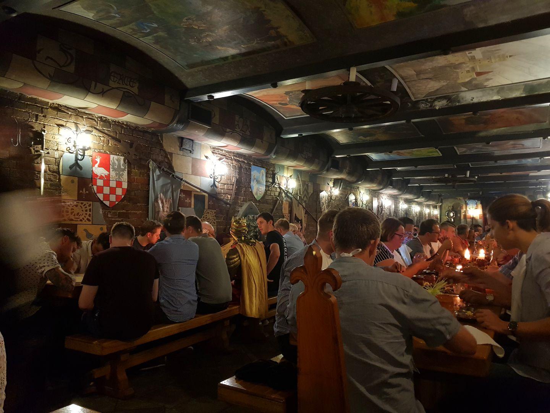 布達佩斯 中古世紀主題餐廳—Sr. Lancelot