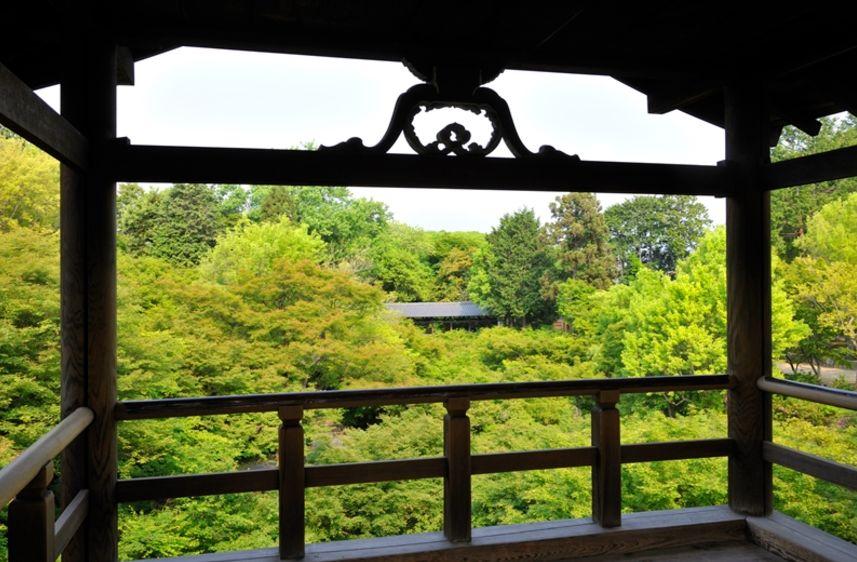日本庭園大師重森三玲的名庭藝術・京都東福寺「本坊庭園」