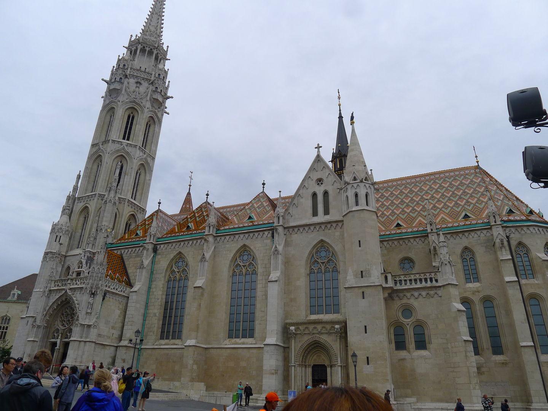 布達佩斯眾多教堂中,我最喜歡的馬提亞斯大教堂