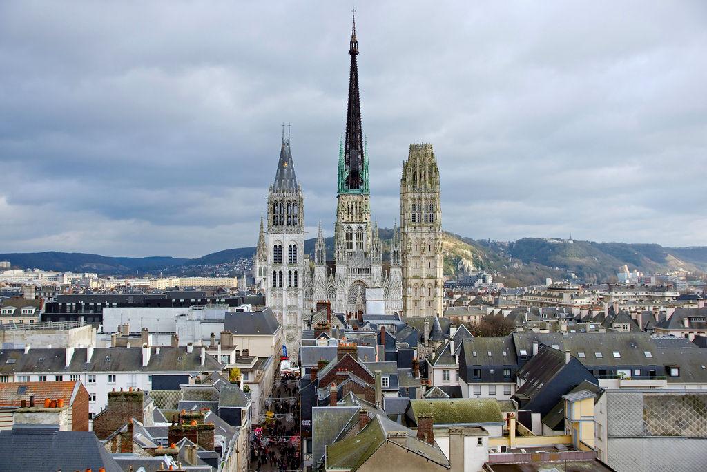 """巴黎近郊一日遊~漫步中世紀歐洲最繁榮城市""""盧昂"""",感受慢活旅行!"""