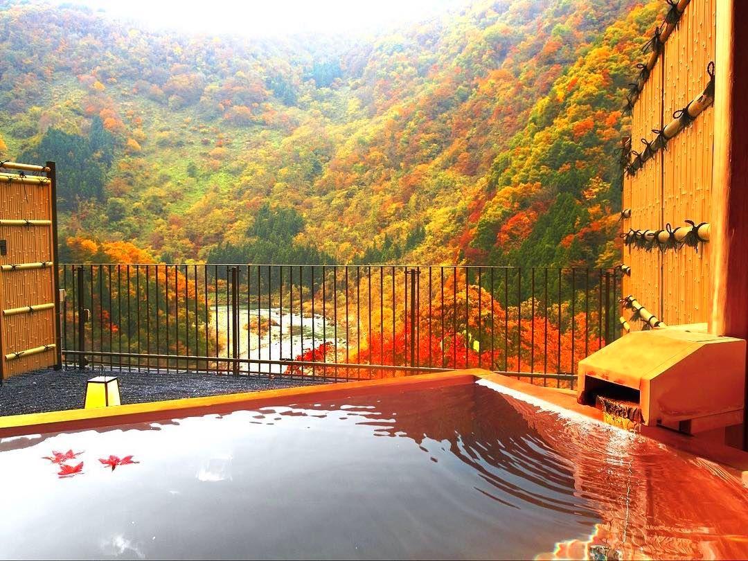 秋天賞楓的最高享受,日本8間必住的賞楓溫泉飯店