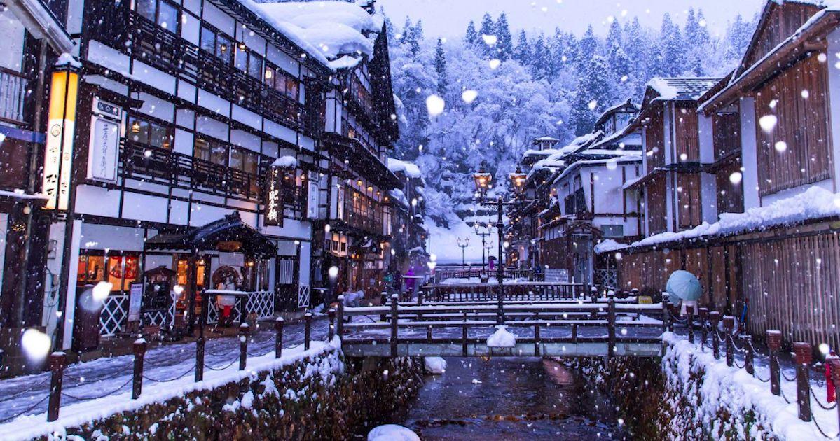 冬季限定!日本嚴選七大雪景溫泉 一邊泡湯一邊賞美景