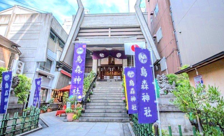 繁華區裡的小天地,東京新橋『烏森神社』