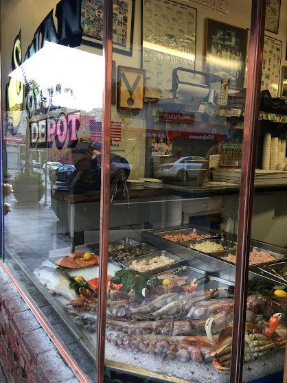 San Francisco舊金山自由行:Swan oyster depot海鮮、九曲花街、金門大橋、藝術宮 Day 3