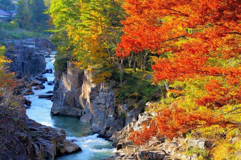 秋天必訪的日本絕景,東北6縣紅葉泡湯嚴選(下)