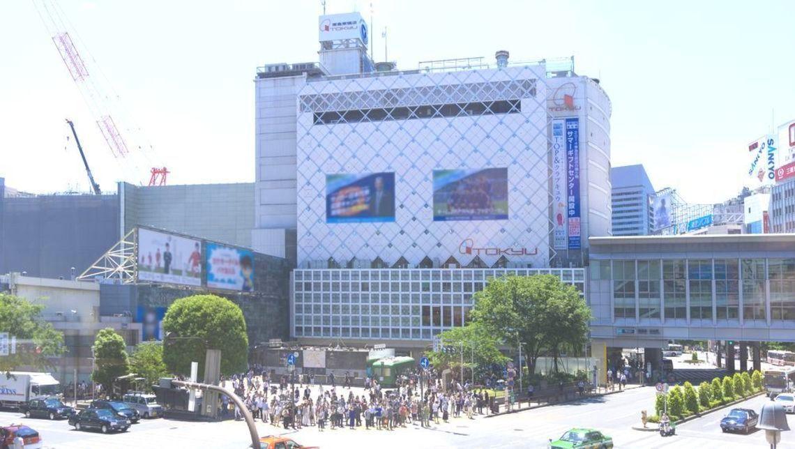 渋谷車站超容易迷路~轉來轉去!東橫線轉車走到山手線總共轉了1710度