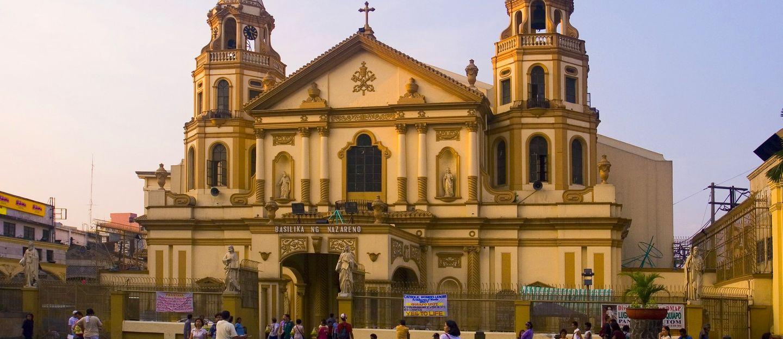 馬尼拉的教堂們… (1)奎啊波教堂