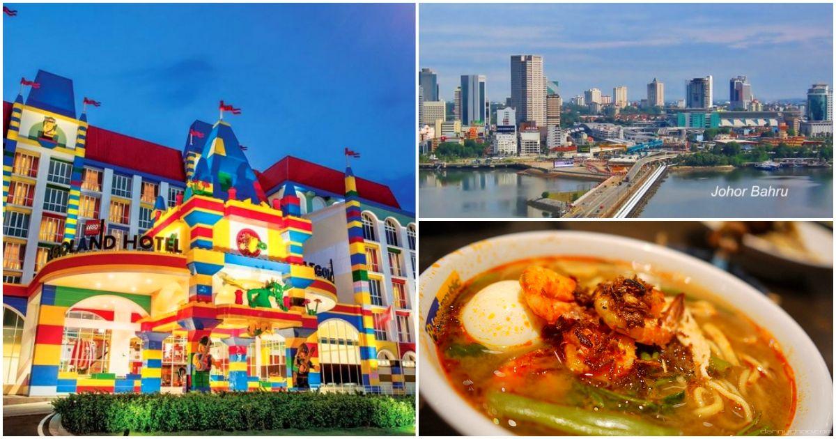 從新加坡走到馬來西亞?在新山必做的4件事!