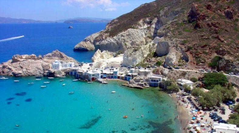 就愛去希臘!最美的海邊就在米洛斯島