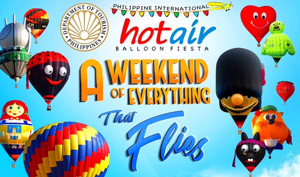 22nd Philippine International Hot Air Balloon Fiesta! Enjoy the scenery from the sky!