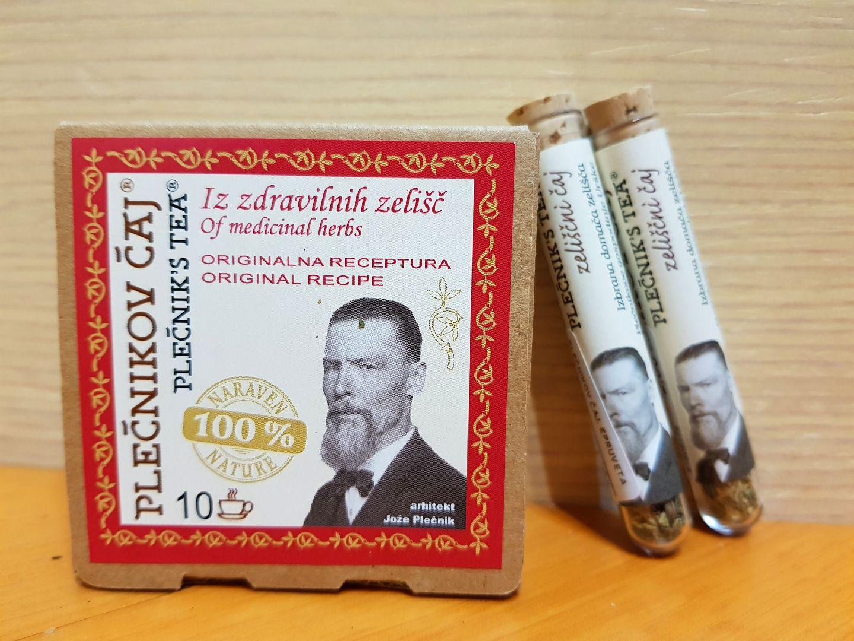 你不知道的盧比安那氣質伴手禮~Plečnik 茶 & 蜂蜜餅乾