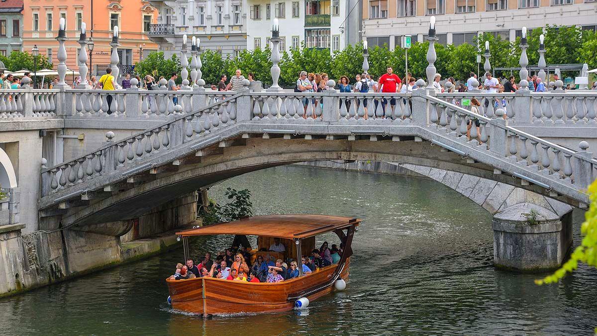 盧比安那河遊船